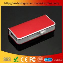 الاحتفال الاجتماع التذكاري الهدايا كتاب نمذجة المعادن قابل للسحب بواسطة الدفع USB عصا