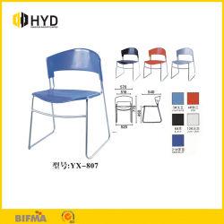 Presidenza accatastabile dell'allievo della presidenza di plastica blu moderna poco costosa della mobilia