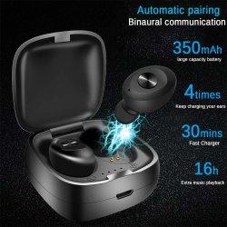 Tws Earpods MP3 auriculares auriculares estéreo de aviación resistente al agua mejor auricular inalámbrico Bluetooth Auriculares con sonido Bass