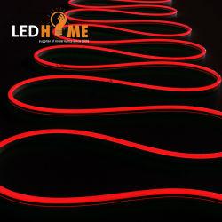 IP67 de extrusión DC24V Dome Head Silicona flexible de LED de luz de neón de la publicidad firmar los perfiles de Neon LED
