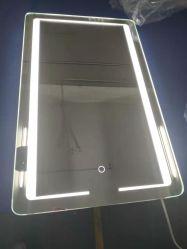 목욕탕을%s Fogless 목욕탕 미러 LED 점화