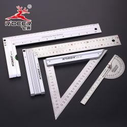 L'aluminium et acier inoxydable carrés