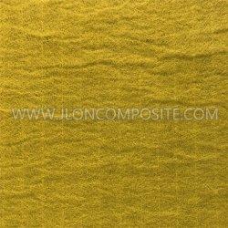 Tissu en fibre de verre jaune pour système de toiture