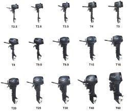 돛 선외 발동기 2 치기 2.5HP/2.6HP/3.5HP/4HP/5HP/8HP/9.8HP/9.9HP/15HP/18HP/20HP/25HP/30HP/40HP/60HP