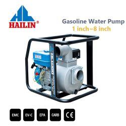 3 인치 7HP 작은 휴대용 가솔린 또는 휘발유 연료 전기 원심 깨끗한 물 펌프