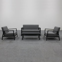 Exterior em liga de alumínio Beach Almofada de Assento personalizados por grosso de lazer moderno Sofá Mobiliário de Ajuste