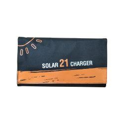 À prova de água Solar Dobrável Carregador de Energia Solar Telefone celular para viagens