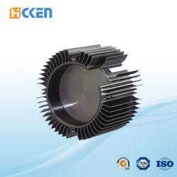 カスタムアルミニウムCNCの機械化の鍛造材は産業脱熱器を分ける