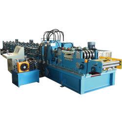 Promoções mensais preço de fábrica personalizada de controlo PLC Unidade caixa de transmissão de alta velocidade de Aço Galvanizado C Z Terça intercambiáveis máquina de formação de rolos automática