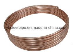 銅の上塗を施してある鋼鉄管そして鋼管