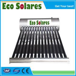 Sonnensystem-Wasser-Becken-Edelstahl-Vertrag unter Druck gesetzte nicht Druck-Wärme-Rohr-Solar Energy Warmwasserbereiter-Sonnenkollektor-Vakuumgefäß-Solarersatzteile