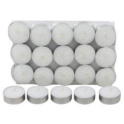 A China por grosso Tealight Branco os fornecedores de velas