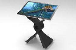 Zoll Innen-LCD der China-Zubehör-Wand-Montierungs-43 Bildschirm-Multimedia LCD-interaktiven Bildschirm bekanntmachend