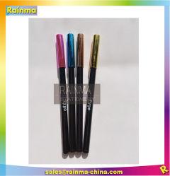La nouveauté de stylos à bille avec or rose et brillant couleur pour cadeau promotionnel