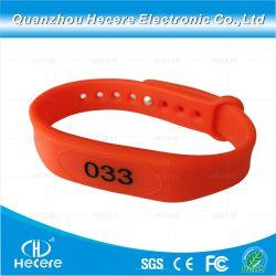 Custom silicium RFID MIFARE Classic 1K bracelets en caoutchouc bracelet RFID NFC