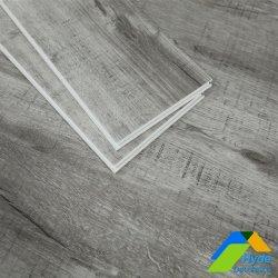 Grãos de madeira à prova de fogo fácil de limpar plástico pedra composto/Spc Flooring PVC vinil de luxo plank andar lado a lado