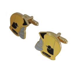 Custom Design Gold Cufflink for men
