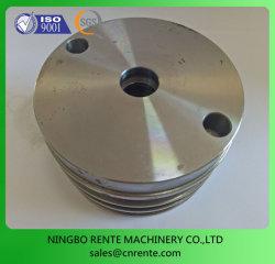 Servicio de cilindro hidráulico de CNC de aluminio de brida de montaje