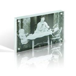 Ventes en gros clients de l'acrylique affichage de Photo Frame, Magazine le châssis