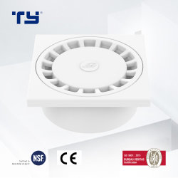 PVC-U 플라스틱 배수 파이프 튜브 피팅은 사각 바닥을 줄여줍니다 배수 GB/T 5836.1 Sam-UK Tianyan OEM