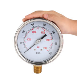 Дозатор высокого давления манометр 5000 бар Professional