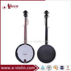 Jante de contreplaqué en acajou noir mat 5 Chaîne de caractères chinois (Banjo ABO245G-MO)