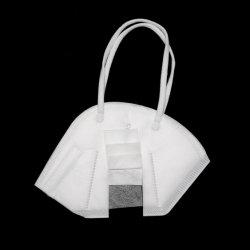 5-lagen Masker van het Gezicht van de Doek van Meltblown het Medische KN95 N95 die het AntiMasker van het Ademhalingsapparaat van het Stof van het Virus opvouwen