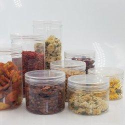 음식 급료 애완 동물 사탕을%s 플라스틱 식품 보존병 플라스틱 저장 상자 또는 샐러드 또는 꽃 또는 차