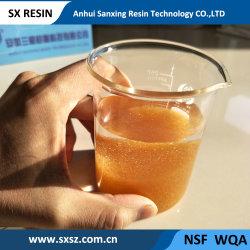 Food Grade de résine échangeuse de cations-001*10 Fg styrène Gel de la série acide fort cation de la Résine d'échange ionique