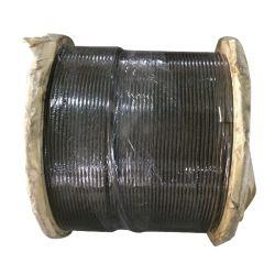 19*7非回転ワイヤーロープ、クレーンのための電流を通された鋼線ロープ