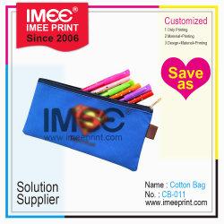 Color impreso el logotipo de la forma material de tamaño de la caja del lápiz Lápiz Ziplock personalizada Bolsa Bolsa de conjunto de artículos de papelería