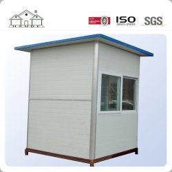 Kundenspezifisches niedrige Kosten-Zwischenlage vorfabriziertes Schutz-Kasten FertigContaienr Haus