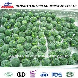 IQF congelato ha tagliato gli spinaci a pezzi, taglio congelato degli spinaci, intera sfera del foglio degli spinaci di Bqf
