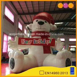 Venta caliente modelo Regalo el Festival de dibujos animados inflables juguetes Oso (AQ5689-1)