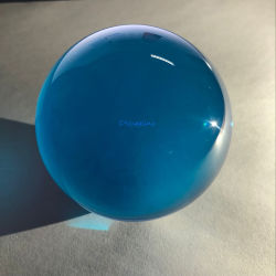 Dsjuggling 100mm Blau Acryl Kontakt Magic Jongling Ball