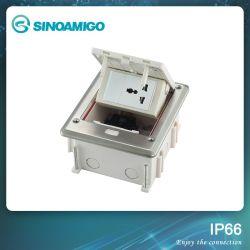 IP66 en dehors de boîtier du connecteur de câblage de puissance de prise de plancher