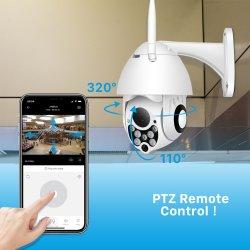 PTZ IP-камера высокоскоростных купольных Wireless WiFi камеры безопасности регулировка наклона 4X цифровой зум 2MP сети видеонаблюдения