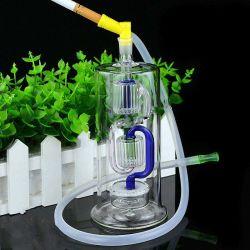 Handgemachtes kundenspezifisches transparentes Ihre eigene Shisha GlasHuka-Flasche