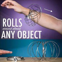 Multifunktionsdruck-Helfer-Sprung-magische Ring Flowring Spielzeug-Druck-Entlastung
