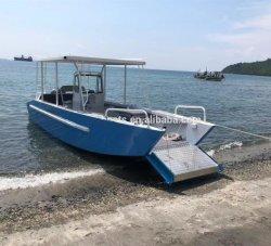 7.9m Aluminium-Ladung-Boots-Lastkahn Workboat Landung-Fertigkeit für Verkauf