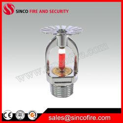 En posición vertical/pared o colgantes de rociadores contra incendios se utiliza para el sistema de rociadores contra incendios