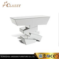 Tabla de la consola de espejos geométrica elegante colección de obras de arte