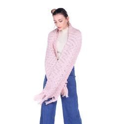 Großhandelsform-Ebenen-Wolle-weibliche Schal-Schal-multi Farben-Chinese-Fabrik