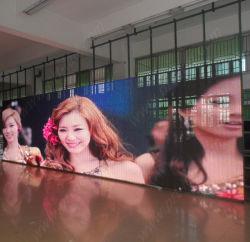 Indoor P12.5 LED Mesh avec plein de couleurs de pixel