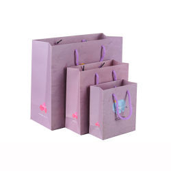 Kundengerechter gedruckter kleiner aufbereiteter nette Karikatur-Minipackpapier-Geschenk-Beutel, Beutel-Geschenk-Papier