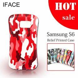 Высокое качество Iface Торгового Центра по оказанию чрезвычайной помощи для печати S6, TPU+ПК архив случаях для Samsung Galaxy S6, Istyle 3D-модель серии