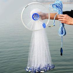 Voltooide Monofilament Nylon het Gieten van de Visserij/Van het Werpnet Hulpmiddelen met Frisbee (ctnmo4-1)