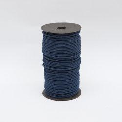 Il nastro elastico di gomma del cavo di ammortizzatore ausiliario della tessitura Ropes la fascia per gli indumenti che coprono gli accessori dei capelli