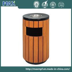 Cendrier haut forme ronde de contenants à ordures de plein air