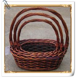 Willow Wicker Flower Storage fruit Food Gift Basket